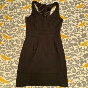 Cynthia Rowley Black Racerback Dress EUC Size S